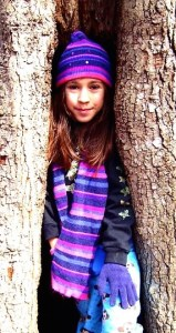 Small me in a tree