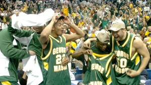 Cinderella Story George Mason celebrates making it to the Final Four in 2006