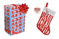 Bacon Gift Wrap and Stocking