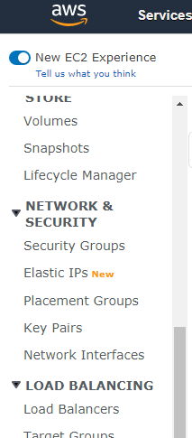 Elastic IP AWS