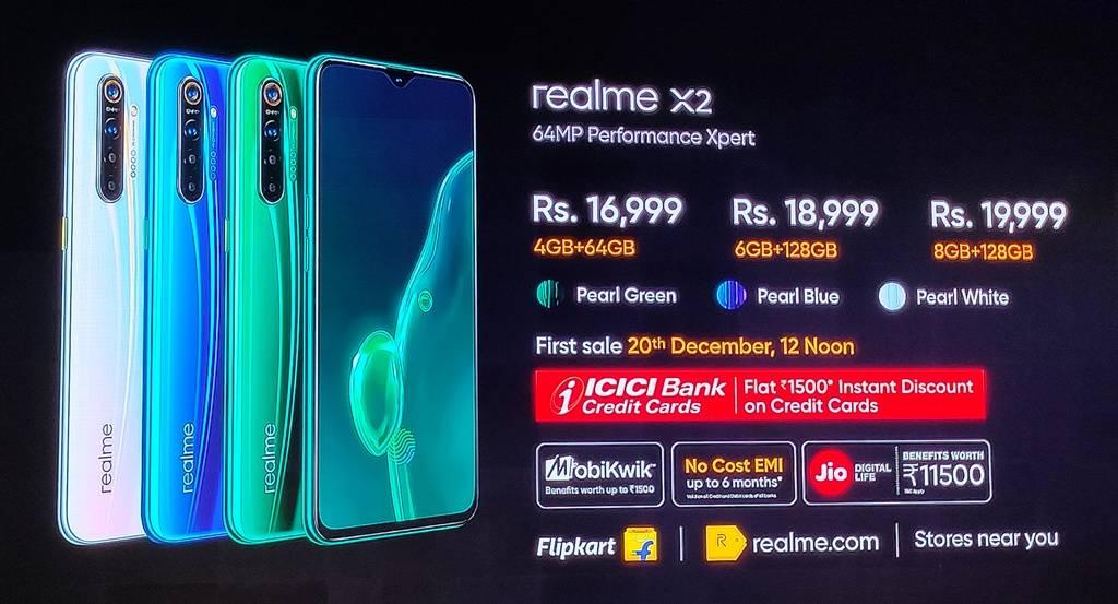 Realme X2 Price