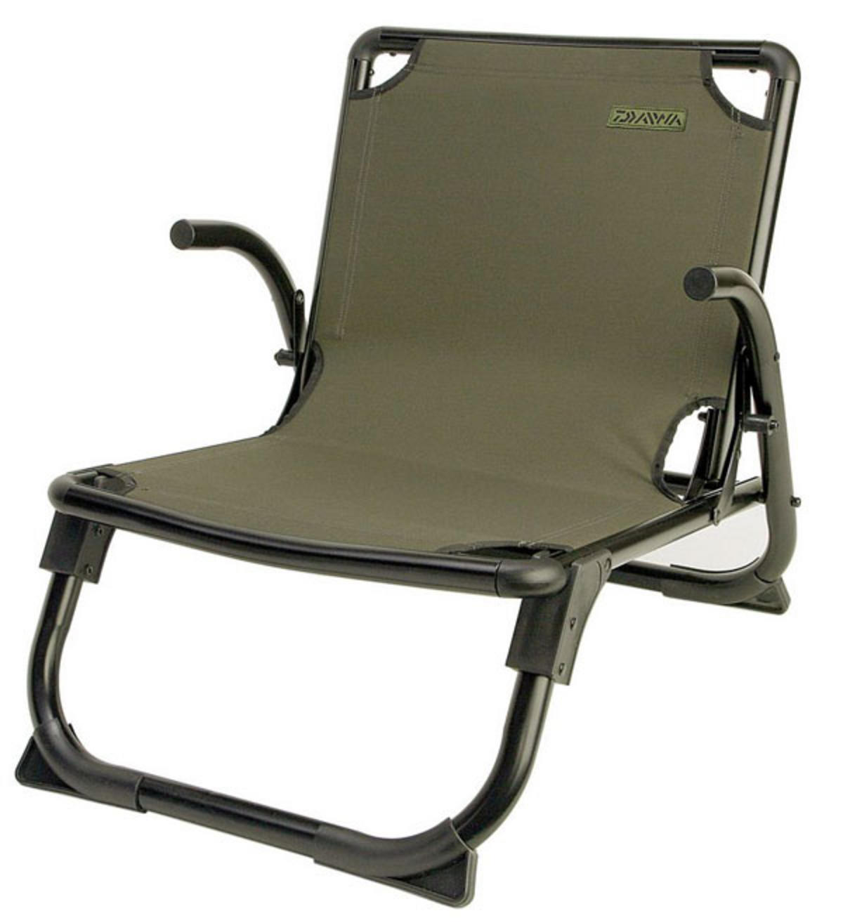 fishing chair small swing hammock outdoor daiwa mission low mlc2