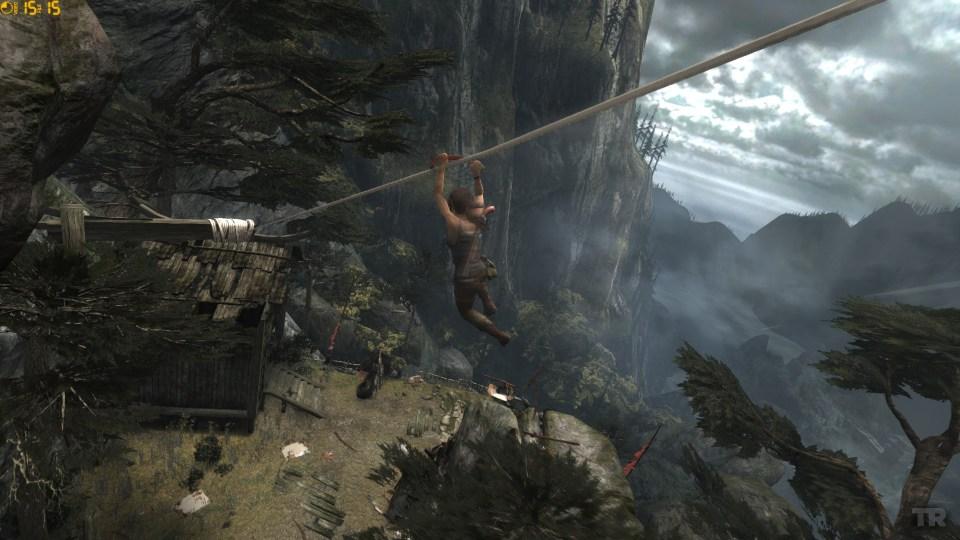 Lara's agility is a joy.