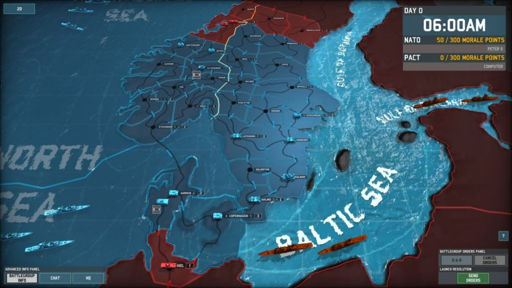 Let's defend Scandinavia in Wargame: AirLand Battle! Part 1: Something Rotten in Denmark (3/6)