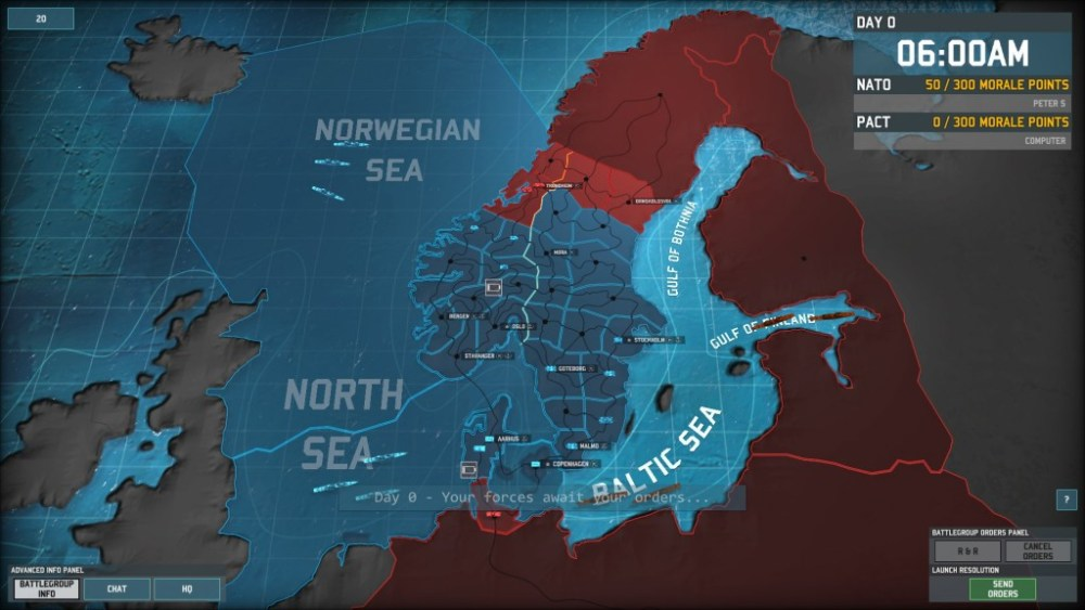 Let's defend Scandinavia in Wargame: AirLand Battle! Part 1: Something Rotten in Denmark (1/6)