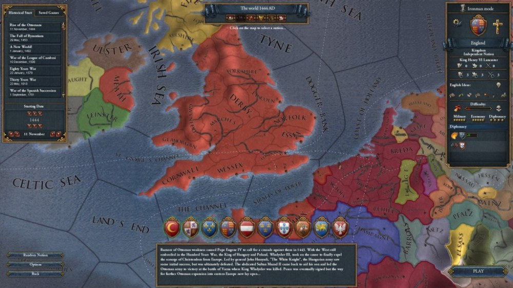 The World that May Have Been, a Europa Universalis IV Let's Play -- Part 1: Never Pick on Someone Your Own Size (4/6)