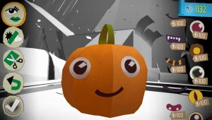 Customisation in action. Isn't that the happiest pumpkin you ever saw?