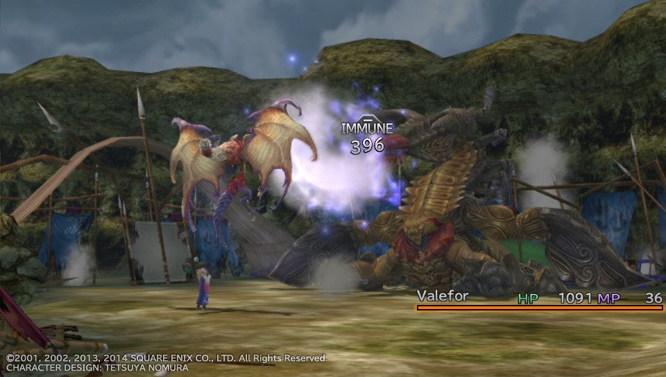 I Choose You Combat In Final Fantasy X Matchsticks For