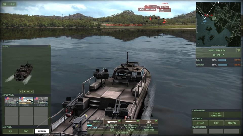 WRD Gunboat
