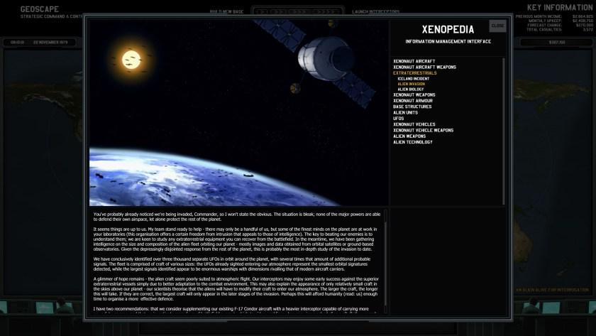 Xenonauts Alien Invasion blurb