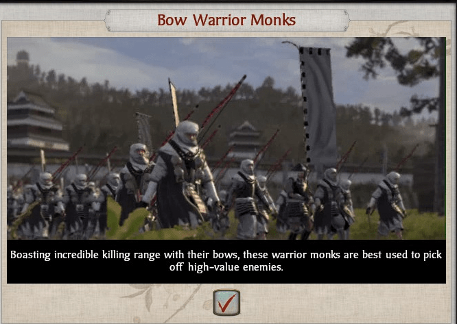 S2 bow monks recruited