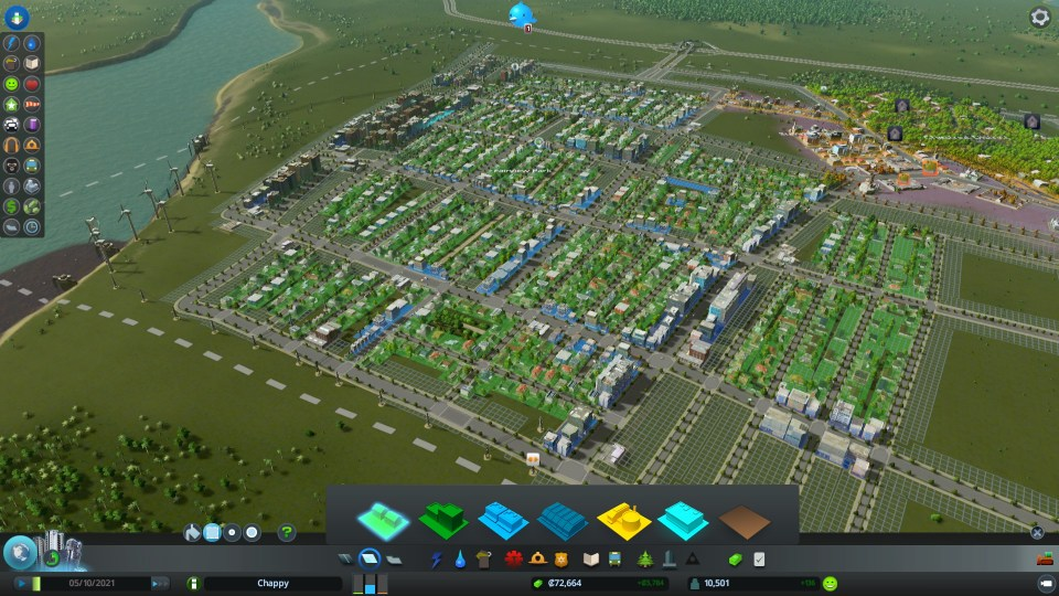 Skylines - New city with HD