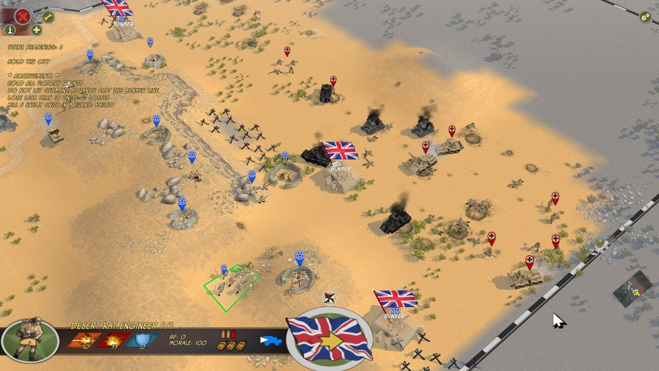 Battle Academy - 8th Army Defence