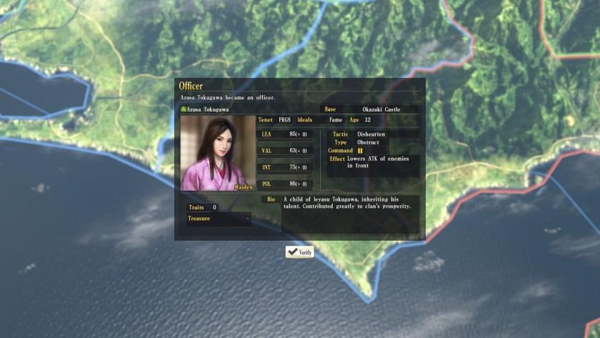 Nobunaga's Ambition - Azusa 1