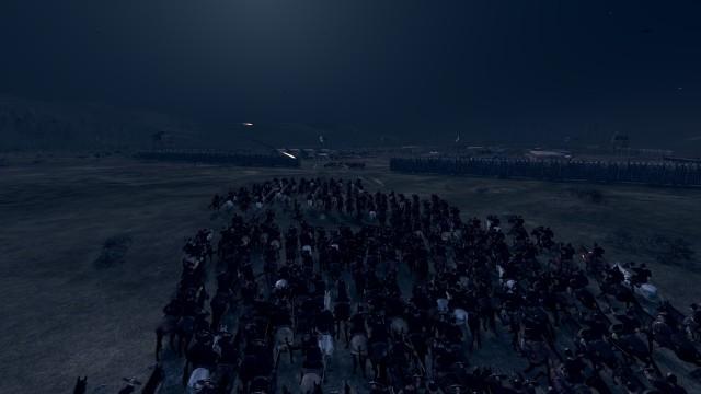 Attila - ERE cavalry at night