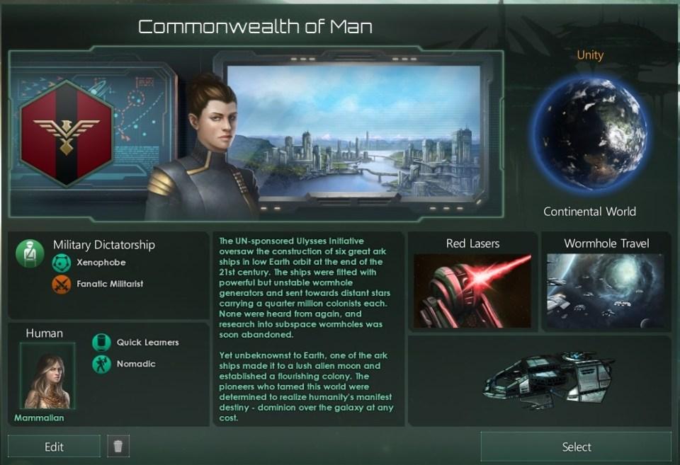 Stellaris COM