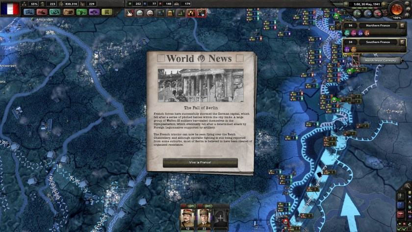 HOI4 France Takes Berlin