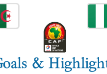 Can 2019 - Algeria VS Nigeria