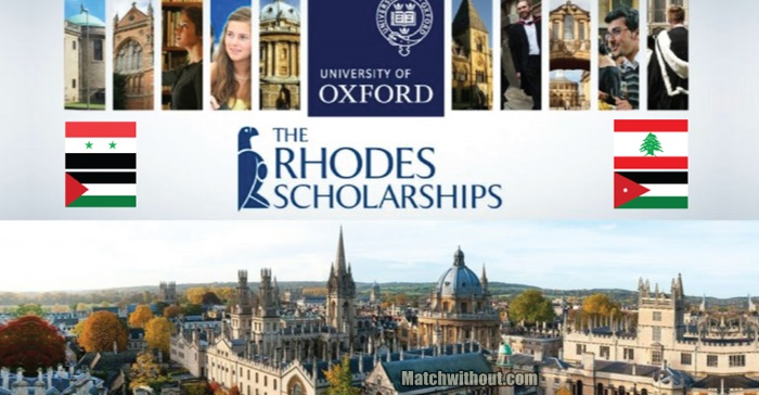 University of Oxford: Fully Funded 2021 Rhodes Scholarship Application
