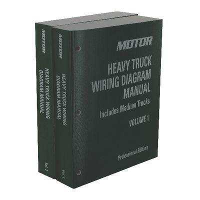 motor heavy truck wiring diagram manual  2 volume set 20092013