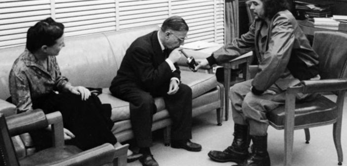 El Che y Jean Paul Sartre desde la unidad del corazón, la acción y las ideas
