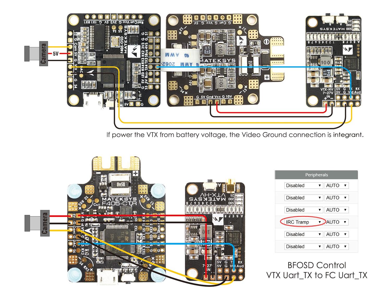 hight resolution of video transmitter 5 8g vtx hv w bfcms control matek systems vtx wiring diagram vtx hv c1