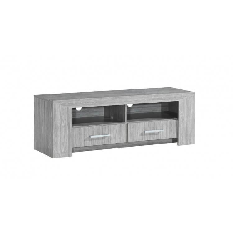 meuble tv contemporain chene gris paola