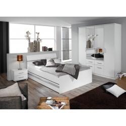 chambre adulte moderne blanche apollina