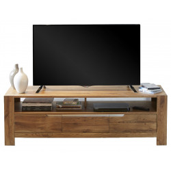 meuble tv en bois massif pas cher