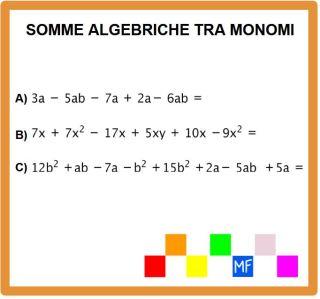 termini simili polinomi