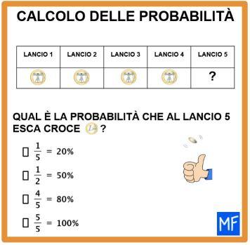 calcolo pobabilità