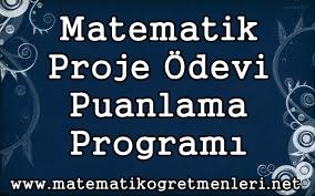 Matematik Proje Ödevi Puanlama Programı