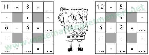 1. Sınıf Matematik Toplama ve Çıkarma Küpleri