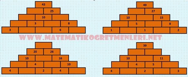 2. sınıf piramit toplama