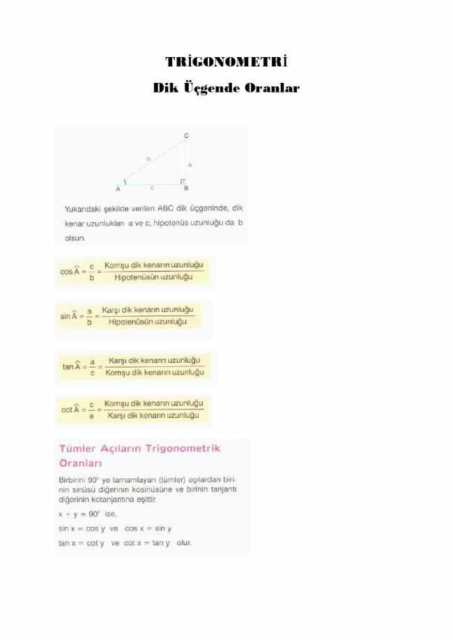 Trigonometri sbs