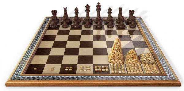 Leyenda: El tablero de ajedrez y los granos de trigo.
