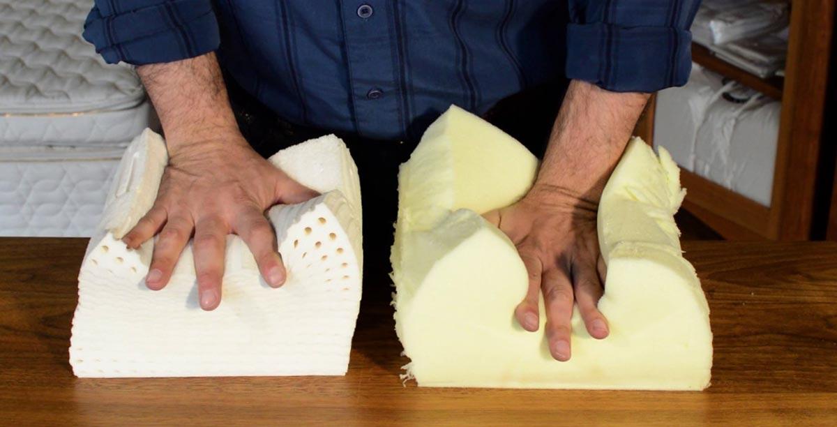 Materasso in lattice o memory foam  Materassi Matrimoniali