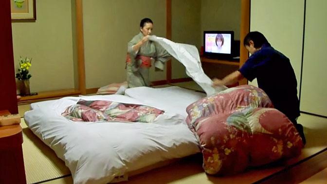 Come scegliere un materasso futon alla giapponese