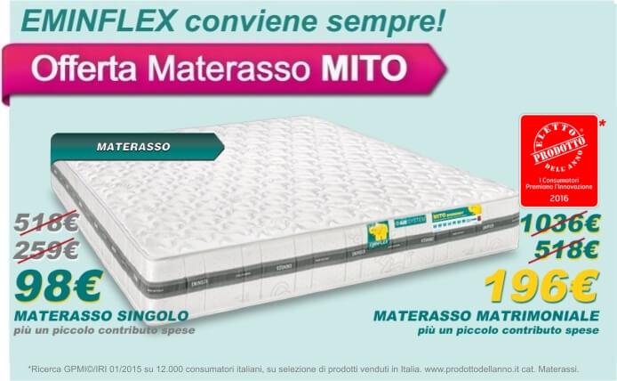 Caratteristiche Materasso Mito Eminflex.Materasso Ortopedico Permaflex Idee Per La Progettazione Di
