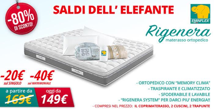 Offerta materasso RIGENERA Ortopedico con Hers System