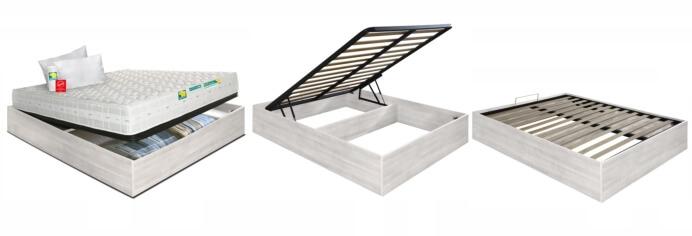 Offerta Eminflex materasso e letto armadio contenitore Eminflex testata bassa
