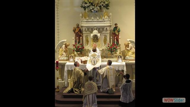 Fr. Geckle's First Solemn High Mass