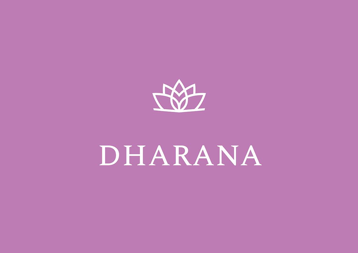diseño de identidad corporativa de Dharana