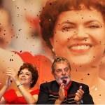 Imagem da semana: Dilma e Lula no Congresso do PT