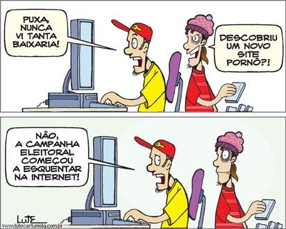 Eleições Campanha Internet Baixaria Trolls