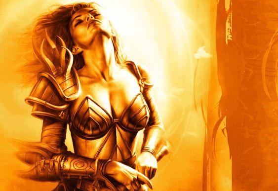 Mulher Guerreira - Fantasy Art
