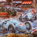 Dica de desenhos bonitos das antigas corridas de automóveis