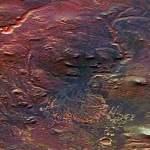 Muita água já correu em rios que formavam delta no planeta Marte