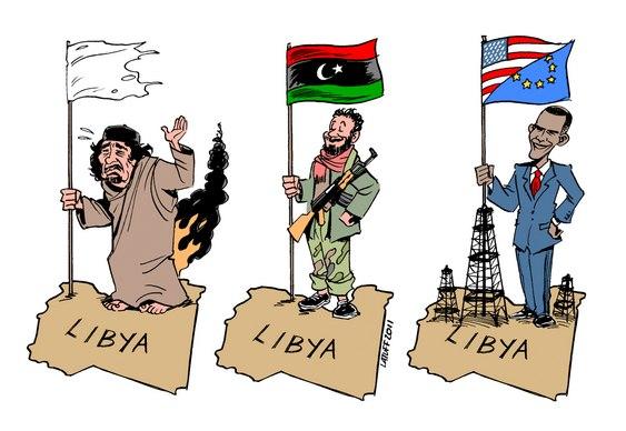 Líbia saqueada