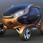 Citroën EGGO – carro elétrico com a forma perfeita do ovo